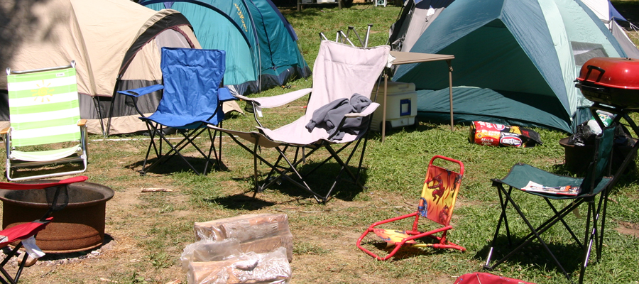 Picture of a Kymer's camp site