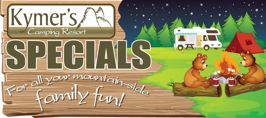 Kymer's Specials - Family Fun Banner